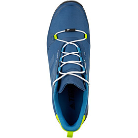 adidas TERREX Fastshell Low Shoes Men blue nightblue nightsemi solar yellow